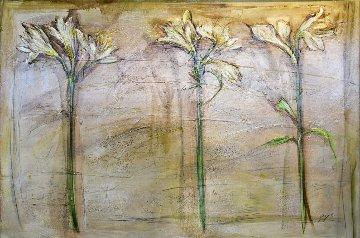 Floral 40x57 Original Painting - Lenner Gogli