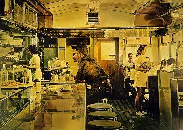 Unadilla Diner 1981 Limited Edition Print - Ralph Goings