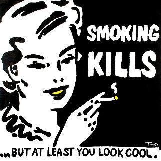 Smoking Kills Limited Edition Print - Todd Goldman
