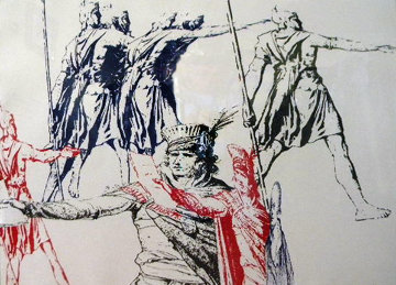 Untitled (For French Revolution Bicentennial) Limited Edition Print - Leon Golub