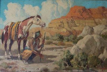 Tracker 20x30 Original Painting - M.A. (Marco Antonio) Gomez