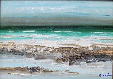 Cote Sauvage a Quiberon 2010 13x17 Original Painting by Lucien Gondret