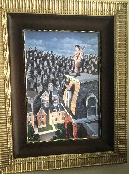 Performer And His Public 31x25 Limited Edition Print by Rob Gonsalves - 1