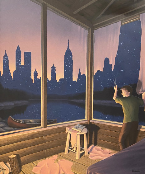 A Change of Scenery 1994 Limited Edition Print by Rob Gonsalves