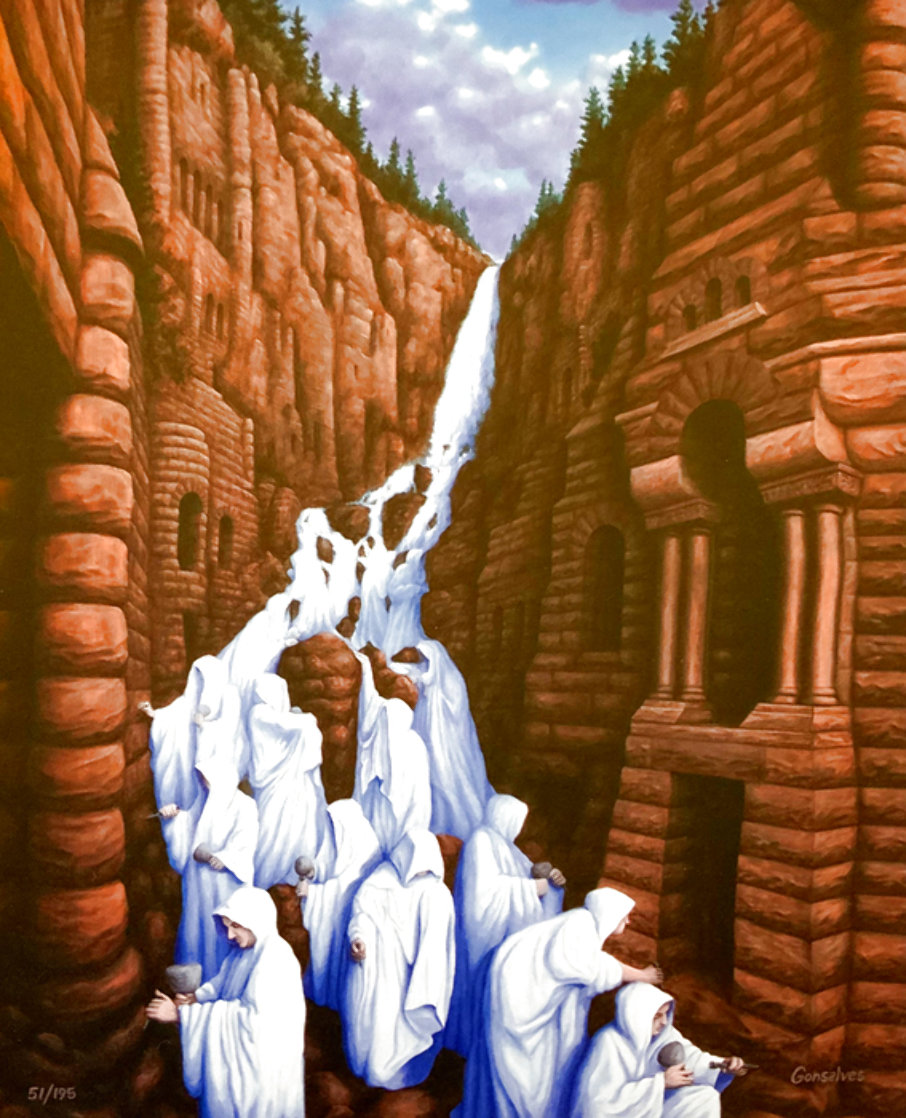 Carved in Stone Limited Edition Print by Rob Gonsalves