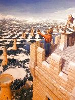 Chess Master Limited Edition Print by Rob Gonsalves - 0