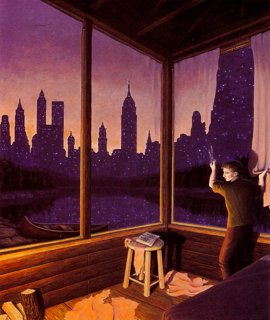 Change of Scenery Limited Edition Print by Rob Gonsalves