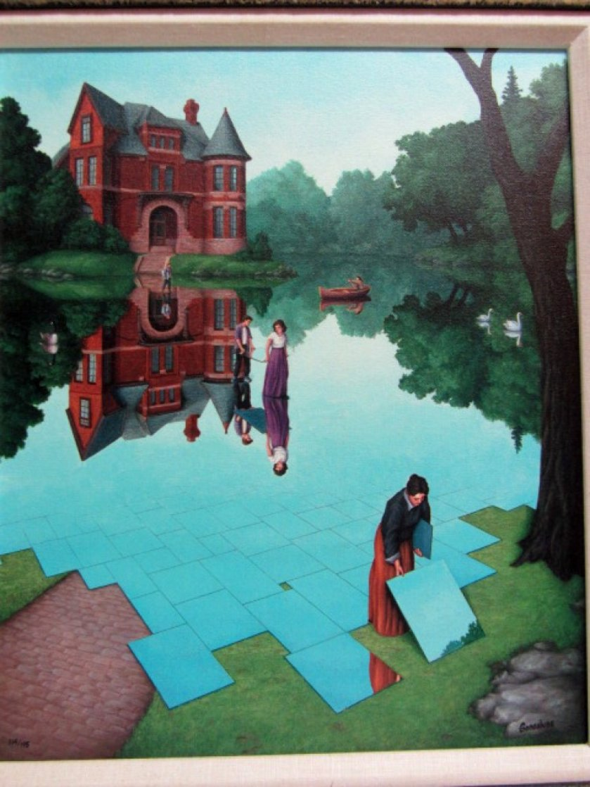 Still Waters 2002 Limited Edition Print by Rob Gonsalves