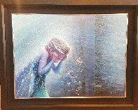 Cold Storm 2014 38x48 Huge Original Painting by Rodel Gonzalez - 1