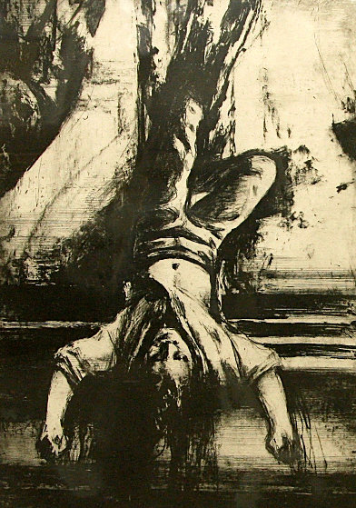 Hanging 1986 Limited Edition Print by Sidney Goodman