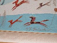 Winter Sleigh Ride  1994/33x33 Original Painting by Yuri Gorbachev - 2