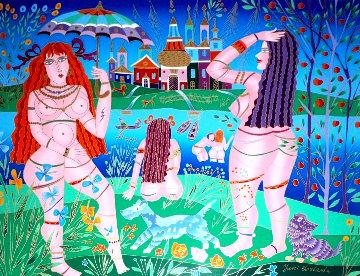 Bathers PP Limited Edition Print by Yuri Gorbachev