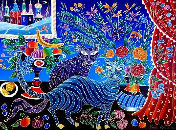 Two Cats PP Limited Edition Print - Yuri Gorbachev