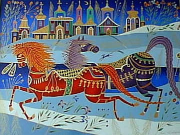 Winter in Borovici PP Limited Edition Print by Yuri Gorbachev