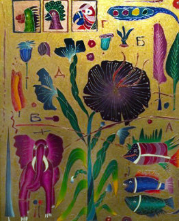 Evolution #6 36x30 Original Painting by Yuri Gorbachev