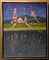 Landscape 1992 30x24 Original Painting by Yuri Gorbachev - 1