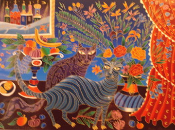 2 Cats Limited Edition Print - Yuri Gorbachev