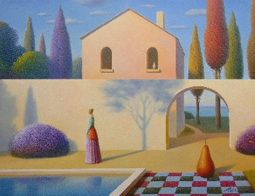 Shadow 2018 24x32 Original Painting - Evgeni Gordiets