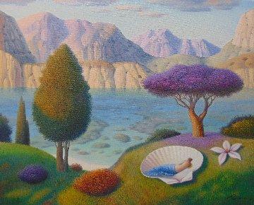 Summer Dream 2018 24x30 Original Painting by Evgeni Gordiets