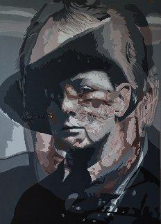 Anathema: Churchill, Painting 3 2017 61x43 Super Huge Original Painting - Gordon Carter