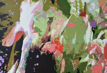 Study in Intimacy, Painting 3 2017 31x47 Huge Original Painting - Gordon Carter
