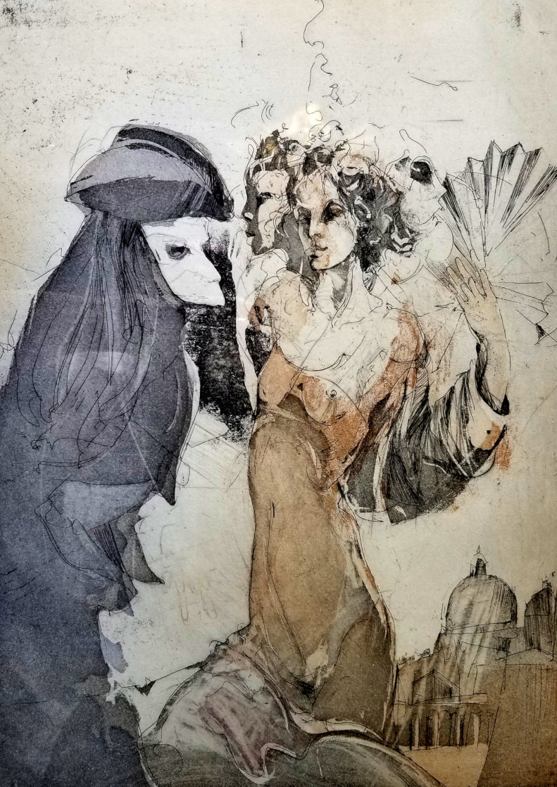 Metamorphose 1989 Limited Edition Print by Jurgen Gorg