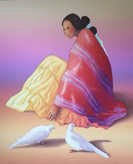 Maria Paloma 1993 Limited Edition Print - R.C. Gorman