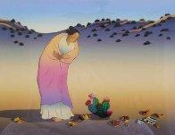 Flowers of Los Lunas 1987 Limited Edition Print by R.C. Gorman - 0