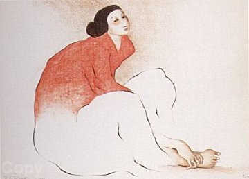 Woman From Paris (State 1) 1979 Limited Edition Print by R.C. Gorman