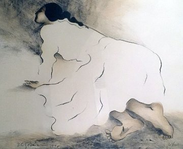 Lady of the Barefoot 1978 Limited Edition Print by R.C. Gorman