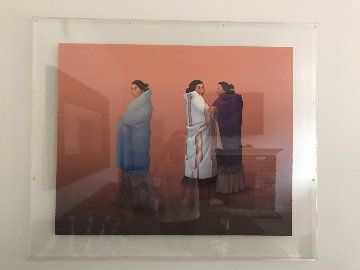 Whispers 1989 Limited Edition Print by R.C. Gorman