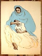 Mother And Child TP 1974 Unique Limited Edition Print by R.C. Gorman - 0