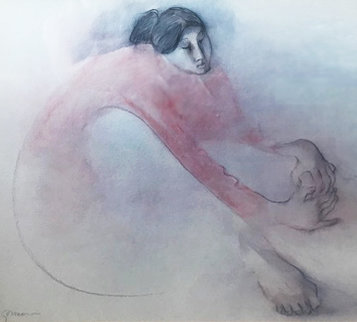 Untitled Portrait 1970 Limited Edition Print - R.C. Gorman