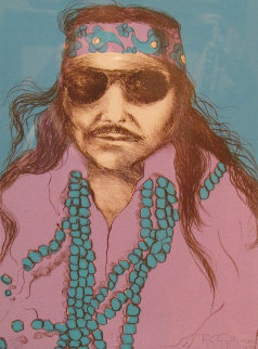 Self-Portrait 1973 Limited Edition Print by R.C. Gorman
