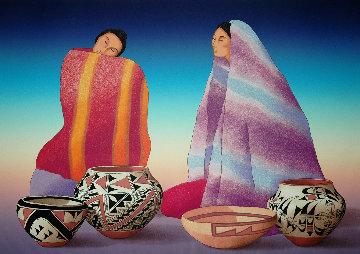 Intermezzo 1995 Limited Edition Print by R.C. Gorman