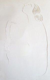 Bernadette Cast Paper  1984 Limited Edition Print - R.C. Gorman