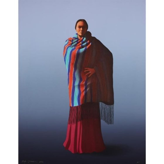 Navajo Dancer Limited Edition Print by R.C. Gorman