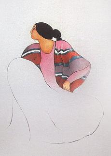 Valencia 1986 Limited Edition Print by R.C. Gorman
