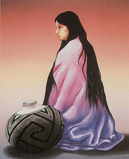 Alma 1985 Limited Edition Print by R.C. Gorman