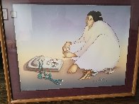 Trading Woman 1985 Limited Edition Print by R.C. Gorman - 1