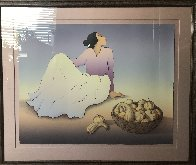 Woman With Gourds 1989 Limited Edition Print by R.C. Gorman - 1