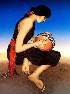 Hopi 1983 Limited Edition Print - R.C. Gorman