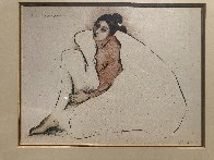 Woman From Indian Wells 1977 Limited Edition Print by R.C. Gorman - 3