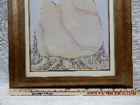 Untitled (Woman with Beige Blanket) 1977 Limited Edition Print by R.C. Gorman - 3