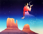 Daughter of the Moon 1990 Limited Edition Print - R.C. Gorman