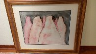 On the Way to Taos 1974 39x44 Super Huge Original Painting by R.C. Gorman - 1
