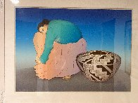 Navajo Nation - Storage Jar 1988 Limited Edition Print by R.C. Gorman - 1