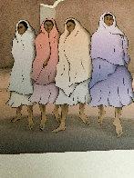 Taos Night 1986 Limited Edition Print by R.C. Gorman - 5