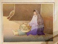 Woman From the Third Mesa 1988 Limited Edition Print by R.C. Gorman - 2