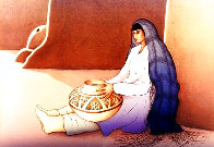 Woman From the Third Mesa 1988 Limited Edition Print by R.C. Gorman - 0